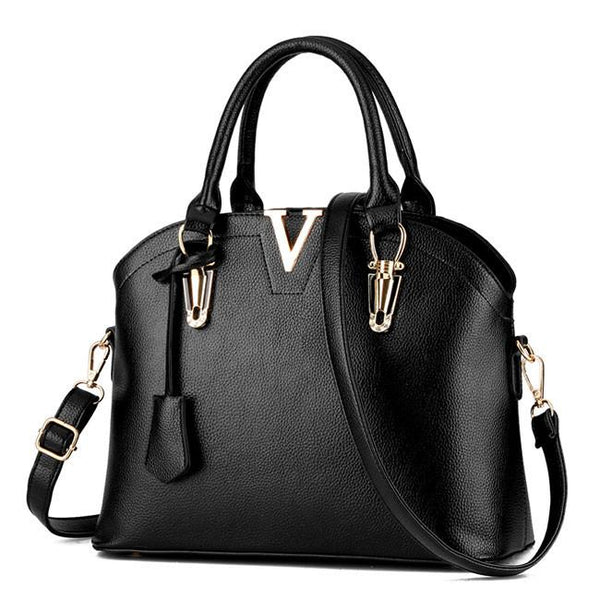 Fashion Women Simple Shoulder Bags Leather Messenger Bag Tote Purse Handbag For Big Sale!- Fowish.com
