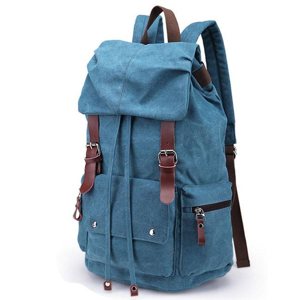 Leisure Laptop Rucksack Travel School Bag Hiking Bags Canvas Backpack For Big Sale!- Fowish.com