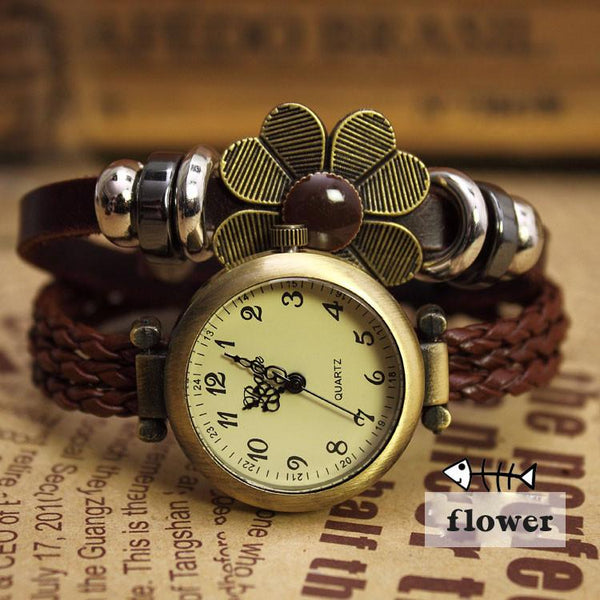 Bohemian Retro Leisure Rope Bracelet Watch - lilyby