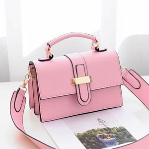 Elegant Ladies H Button Shoulder Bag For Big Sale!- Fowish.com