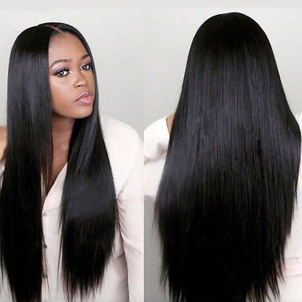 New Middle Separate Long Straight Hair Wig Women's Hair Wigs