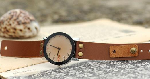 Retro Originality Number Leather Watch For Big Sale!- Fowish.com