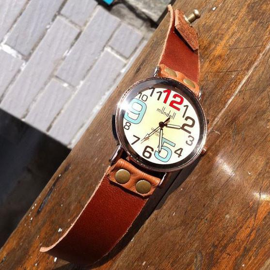 Retro Funny Colorful Digital Leather Watch For Big Sale!- Fowish.com