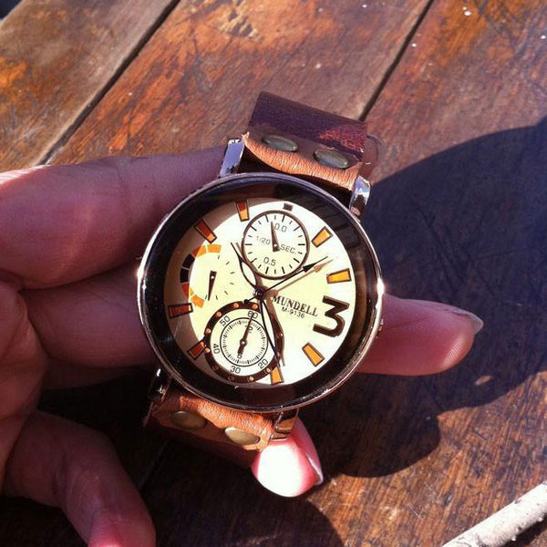 Retro Handmade Man Wrist Watch - lilyby