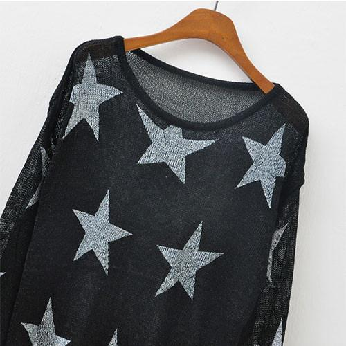 Fashion Stars Printed Knit&Sweater - lilyby