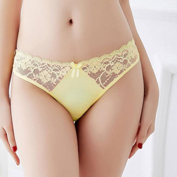 Sexy Women's Super Soft Lace Underwear Panties Mesh Lingerie For Big Sale!- Fowish.com