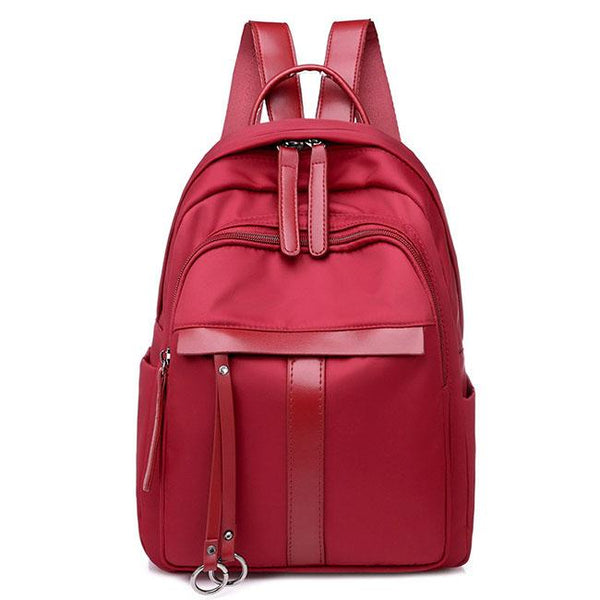Simple Pure Color Student Bag Outdoor Travel Backpack For Big Sale!- Fowish.com