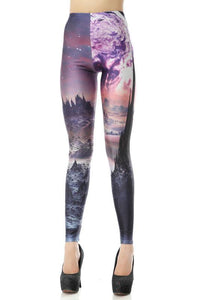 Unique Volcanoes Printed Leggings For Big Sale!- Fowish.com