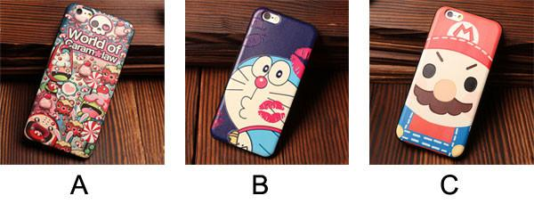 Mario Red Lip Doraemon Candy Genius Relief Silicone Soft Cases For Iphone 5/5S/6/6S - lilyby