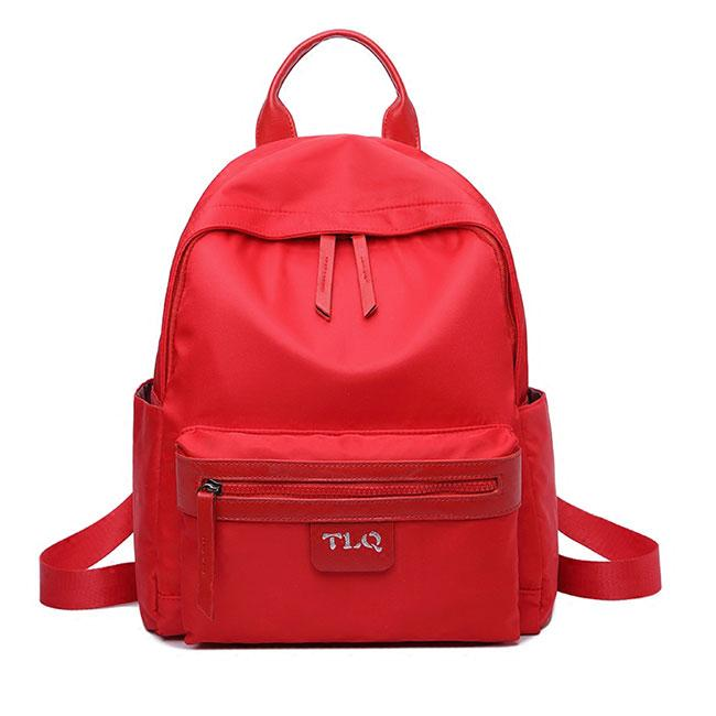 Simple Oxford Pure Color Student Bag School Backpack For Big Sale!- Fowish.com