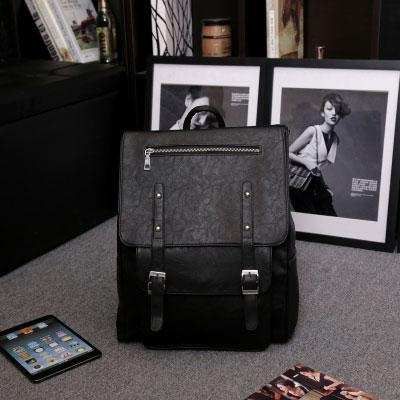 Retro British Autumn College Rucksack Leather Schoolbag Backpack For Big Sale!- Fowish.com