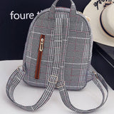 Retro Double Button Bag Gift Shoulder Bag Unique Lines Lingge Backpack For Big Sale!- Fowish.com