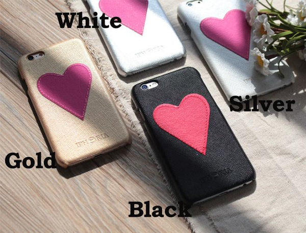 Original Handmand Heart-shaped Iphone 6 S Plus Case Cover - lilyby