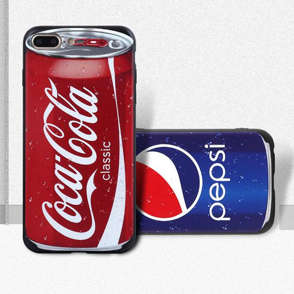 Creative Disguised Retro Pepsi Coca Cola Nokia Teardown Recorder Tape Camera Pill Case Iphone 7/7 plus Cases For Big Sale!- Fowish.com