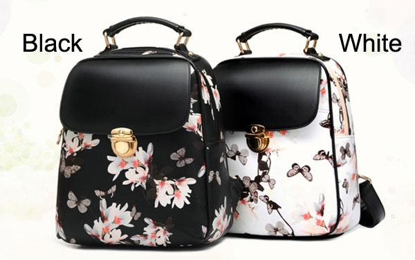 Fresh Girl Butterfly Flower School Bag Casual Backpack For Big Sale!- Fowish.com