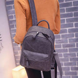 Unique Frosted Thread Geometric Pattern Leisure Simple School Backpack For Big Sale!- Fowish.com