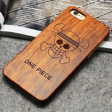 Handmade Carving  One Piece Wood  Case For Iphone 5/5S/6/6Plus - lilyby