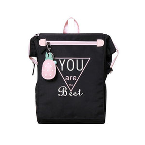 Fresh Junior High School Campus Large Canvas Square College Backpack For Big Sale!- Fowish.com