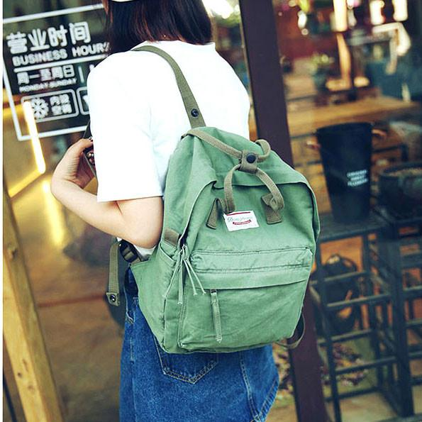 Sweet Canvas School Bag Multi-function Travel Handbag Backpack For Big Sale!- Fowish.com