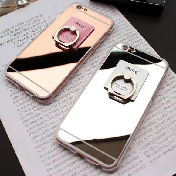 Fashion High-tech Feeling Colourful Mirror Surface Iphone 5/5s/6/6s/6 plus/6s plus Iphone Case For Big Sale!- Fowish.com