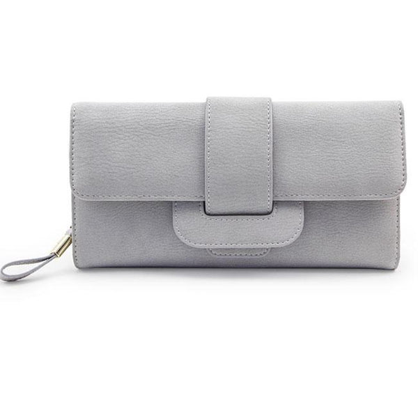 Retro Girl's Square Whole Color PU Purse Phone Wallet Clutch Bag For Big Sale!- Fowish.com