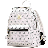 White Fresh Original Rucksack Cute Bear Cartoon School Backpack For Big Sale!- Fowish.com