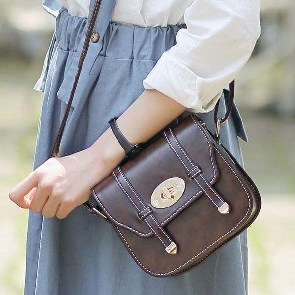 New Buckle Mini British Style Women Messenger Bag Shoulder Bags - lilyby