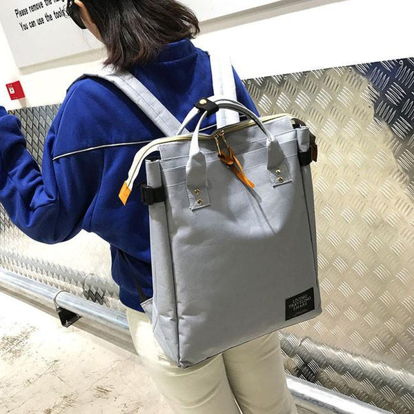 Fresh Square Large Canvas Laptop Bag Multi-function Handbag & Backpack For Big Sale!- Fowish.com