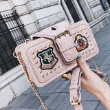 Unique Cute Girl's PU Leather Rivet Small Shoulder Bag For Big Sale!- Fowish.com