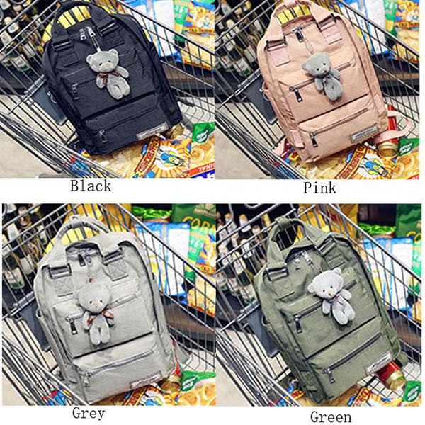 Leisure Oxford Shoulder Bag Campus School Bag Computer Bag Large Multi Pockets College Backpack For Big Sale!- Fowish.com