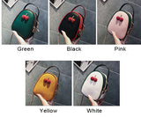 Cute Two Strawberry Decor Chain Strap Small Bag Women Shoulder Bag