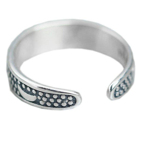 Bohemia Style Star Silver Rings Retro Moon Open Adjustable Ring For Big Sale!- Fowish.com