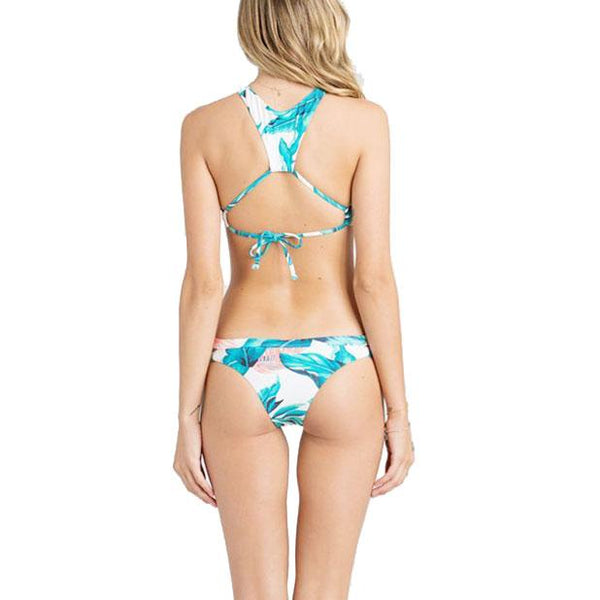New Women's Bikini Sexy Green Leaves Swimsuit For Big Sale!- Fowish.com