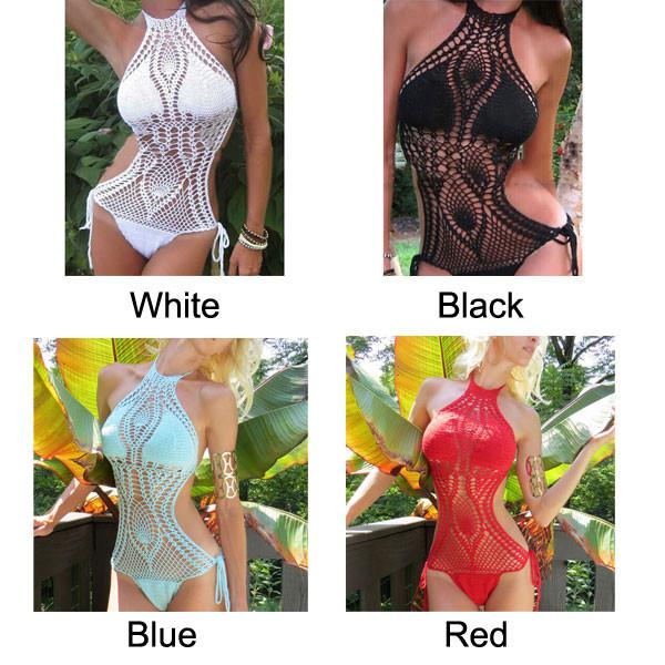 Swimming Suit Handmade Bikini Kintted Swimwear Beachwear For Big Sale!- Fowish.com