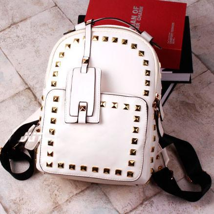 Rivet Causal Solid College Backpacks - lilyby