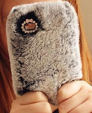 New Plush Winter Warm Case For Iphone 4/4s/5 - lilyby