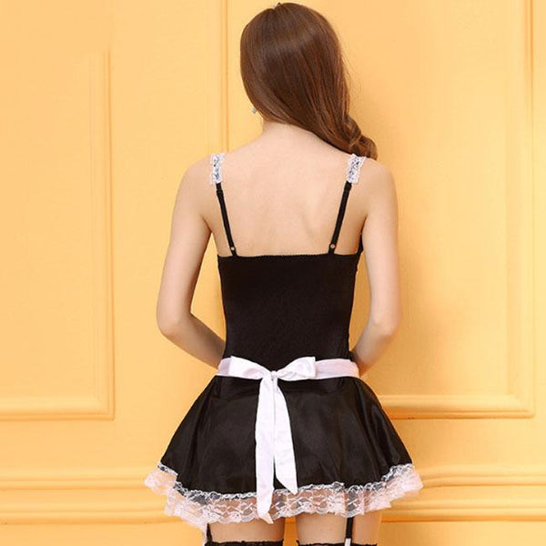 Sexy Women Uniform Lingerie Roles Cosplay Masquerade Lace Costume Lingerie For Big Sale!- Fowish.com