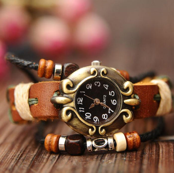 Retro National Fashion Bracelet Watch - lilyby