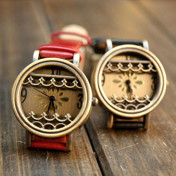 Retro Lace Latest Campus 3D Hollow Watch - lilyby