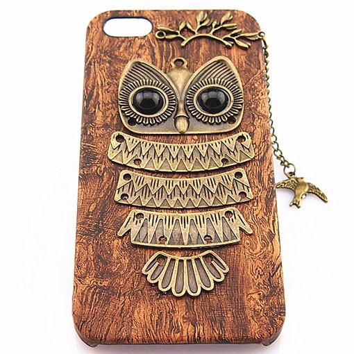 Retro Handmade Owl Iphone Case - lilyby