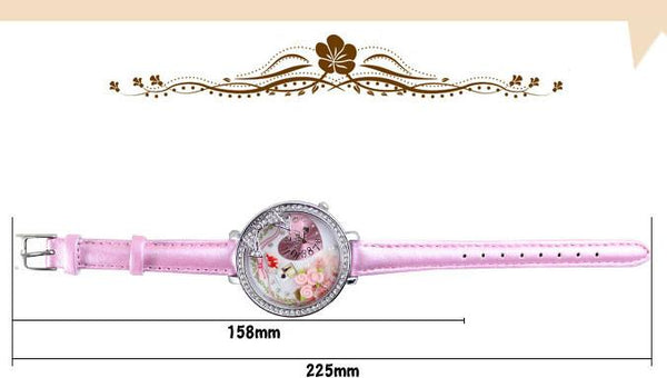 Romantic Bowknot Rose Polymer Clay Watch For Big Sale!- Fowish.com