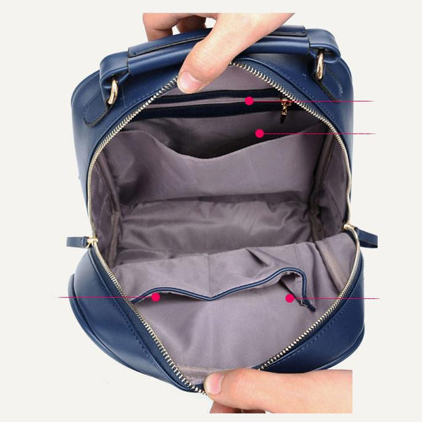 Leisure British Fashion School Backpack - lilyby