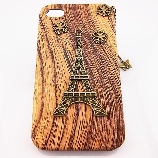 Handmade Retro Eiffel Tower Iphone 5 Case - lilyby