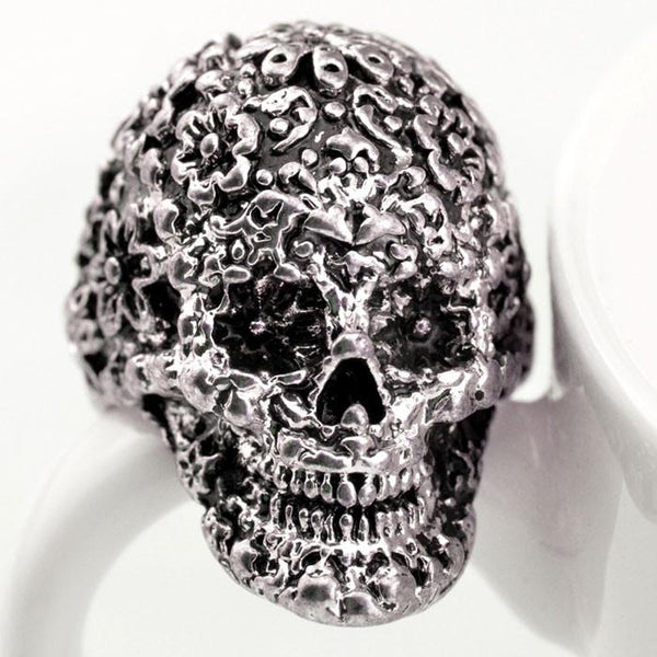 Punk Classic Carving Skull Ring - lilyby