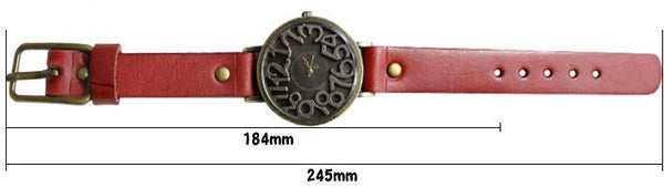 Retro Three-dimensional Scale Leather Watch For Big Sale!- Fowish.com