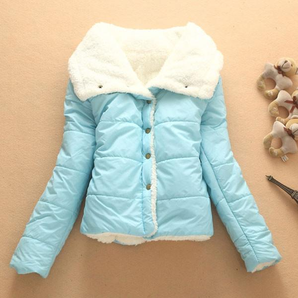 Warm Wool Cotton-padded Jacket Short Coat For Big Sale!- Fowish.com