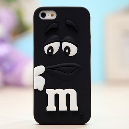 Soft Silicone M Cartoon Iphone4s/5s Cases For Big Sale!- Fowish.com