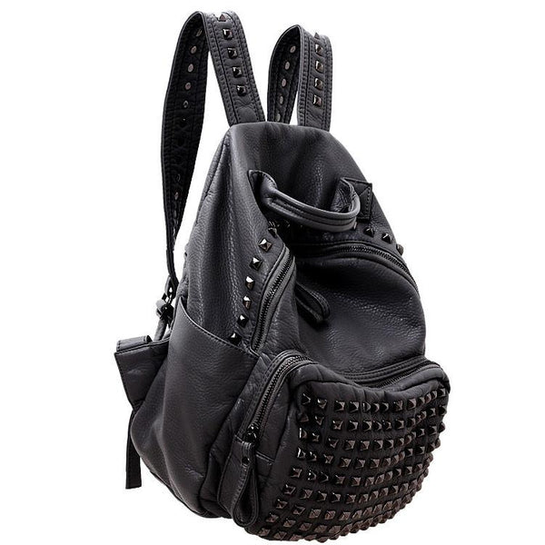 Vintage Rivet Waterproof Backpack For Big Sale!- Fowish.com