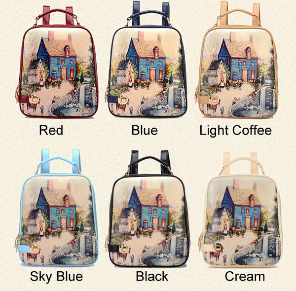 Leisure  Pattern Fashion Summer  College Backpacks - lilyby