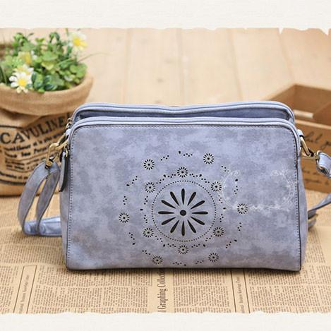 Nice Hollow Out Flower Original Fresh Retro Shoulder Bag - lilyby